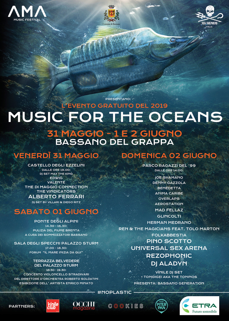 Programma AMA MUSIC FOR THE OCEANS